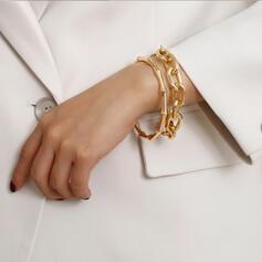 Unique Romantic Alloy Women's Ladies' Girl's Bracelets 2 PCS
