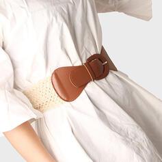 Unique Fashionable Stylish Classic Attractive Artistic Delicate Leatherette Women's Belts 1 PC