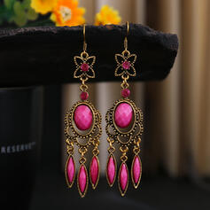 Colourful Boho Alloy Rhinestones Women's Earrings