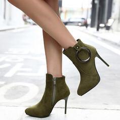 De mujer Ante Tacón stilettos Cima mas alta con Hebilla Otros zapatos