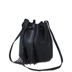 Classical/Commuting/Solid Color/Bohemian Style Tote Bags/Shoulder Bags/Bucket Bags