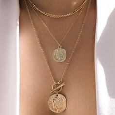 Unique Stylish Alloy Jewelry Sets Necklaces
