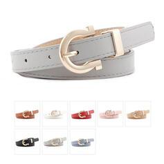 Unique Beautiful Fashionable Stylish Vintage Classic Simple Boho Leatherette Women's Belts 1 PC
