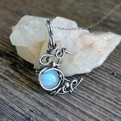 Boho Alloy With Moon Women's Necklaces