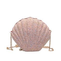 Único/Encanto/Luminoso/En forma de concha/Estilo bohemio Bolso Claqué/Mochila/Bolsos cruzados/Bolso de Hombro/Bolsas de playa