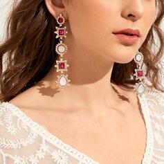 Encanto Caliente Delicado Aleación Diamantes de imitación con Imitaciones de piedras Collares 2 piezas