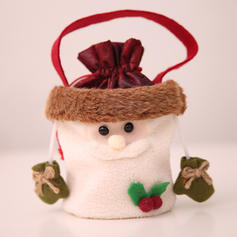 Christmas Merry Christmas Snowman Reindeer Santa Hanging Gift Bag Non-Woven Fabric Apple Bags Candy Bags