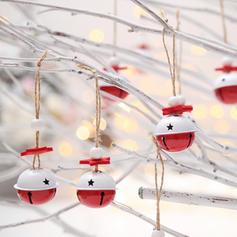 Christmas Merry Christmas Hanging Metal Tree Hanging Ornaments Christmas Ornements Christmas Bell