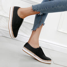 Women's Cloth Flat Heel Flats Sneakers With Solid Color shoes