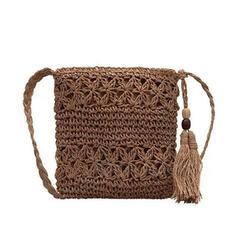 Dreamlike/Vintga/Bohemian Style/Braided Crossbody Bags/Shoulder Bags/Beach Bags/Bucket Bags/Hobo Bags