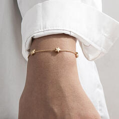 Fashionable Sexy Vintage Classic Alloy With Gold Plated Star Women's Ladies' Bracelets 1 PC