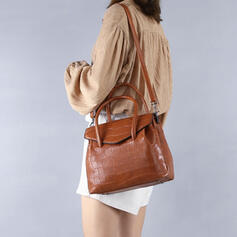 Fashionable/Crocodile Embossed Tote Bags