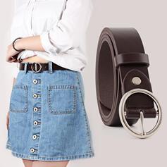 Unique Fashionable Vintage Simple Charming Elegant Delicate Leatherette Women's Belts 1 PC