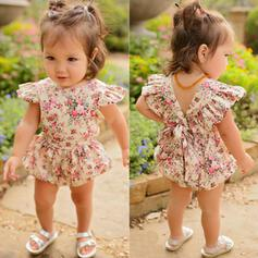 Baby Girl Floral Print One-piece