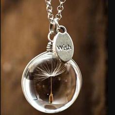 Boho Romantic Glass Women's Necklaces