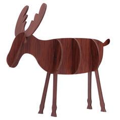 Christmas Merry Christmas Reindeer Tabletop Wooden Diy Craft Christmas Ornements