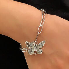 Fashionable Vintage Alloy With Butterfly Women's Ladies' Bracelets 1 PC