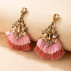 Attractive Charming Elegant Delicate Alloy With Tassels Women's Ladies' Earrings