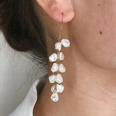 Elegant Artistic Luxurious Alloy Beads With Faux Pearl Women's Ladies' Girl's Earrings