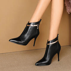 Women's PU Stiletto Heel Boots With Others shoes