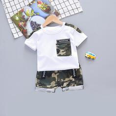 2-pieces Baby Boy Print Cotton Set