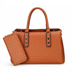 Fashionable/Braided Tote Bags/Bag Sets