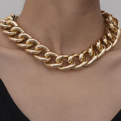 Fashionable Sexy Vintage Classic Alloy With Gold Plated Women's Ladies' Necklaces 1 PC