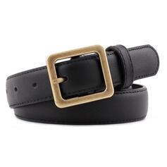 Unique Beautiful Gorgeous Fashionable Stylish Vintage Classic Simple Leatherette Women's Belts 1 PC