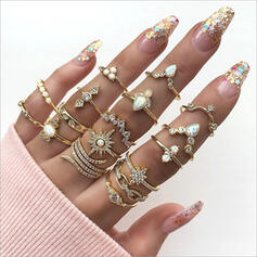 Hottest Fancy Alloy Jewelry Sets Rings