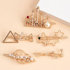 Unique Gorgeous Stylish Alloy With Star Women's Ladies' Girl's Hair Accessories 5 PCS