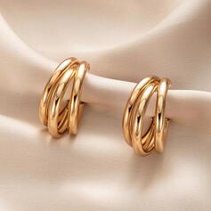 Stylish Alloy Women's Earrings 2 PCS