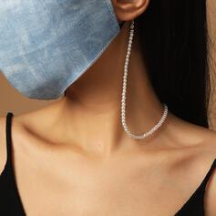 Encanto Aleación La perla de faux Cadenas de mascarillas