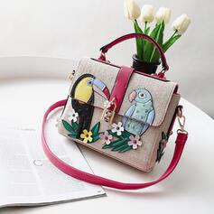 De moda/Desplazamientos/Color de empalme/Floral/Trenzado Mochila/Bolsas de mano/Bolso de Hombro/Bolsas de playa/Bolsas de Hobo