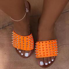 Women's EVA Flat Heel Sandals Slippers With Rivet shoes
