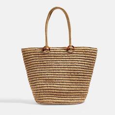 Elegante/Antiguo/Estilo bohemio/Trenzado/Simple Bolsas de mano/Bolsas de playa/Bolsas de cubo/Bolsas de Hobo