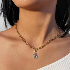 Beautiful Fashionable Sexy Alloy With Rhinestone Women's Ladies' Necklaces 1 PC