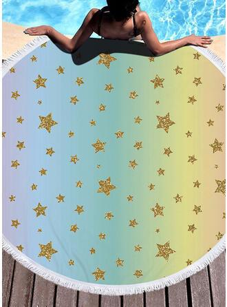 Ligero/Multifuncional/Colorido/Libre de arena/Secado rápido/Diseñado animales toalla de playa
