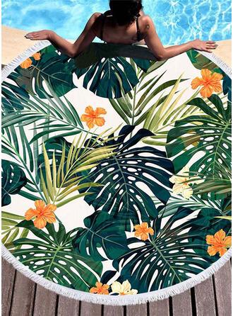 Floral atractivo/moda/fresca toalla de playa