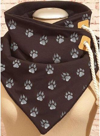 Animal/Print fashion/Animal Designed/Black Cat Scarf