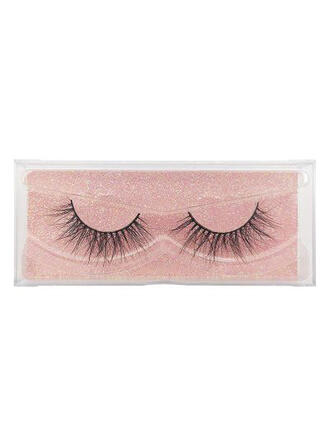 1-pair Sexy Eyelash Lace Mink With PVC Bag