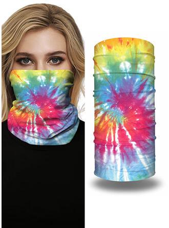 Respirable/Protector/Cobertura completa/Multifuncional/Sin Costura/A prueba de polvo/Tie-Dye Bandanas