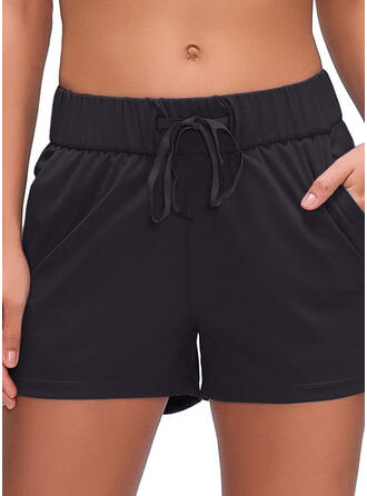 Lace Up Strapless Casual Bottoms Swimsuits