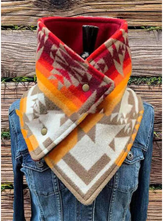 Geometric Print Light Weight/fashion Scarf