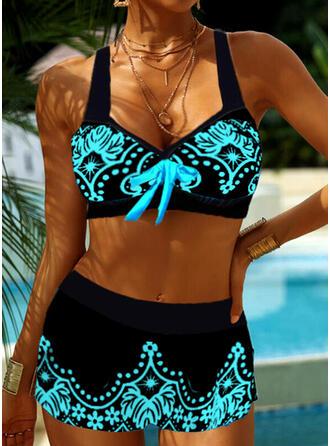 Halter V-Neck Casual Bikinis Swimsuits