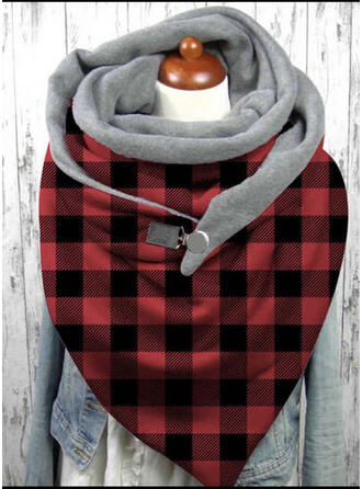 Plaid/Christmas fashion/Christmas Scarf