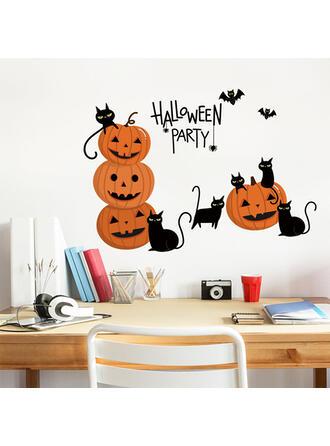 gótico Halloween Calabaza PVC Pegatina Decoraciones De Halloween