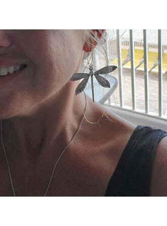 Fashionable Dragonfly Alloy Women's Earrings