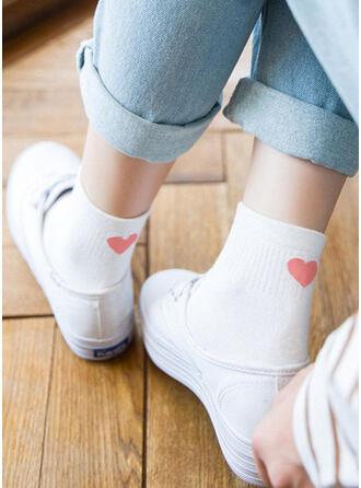 Print Comfortable/Women's/Crew Socks Socks