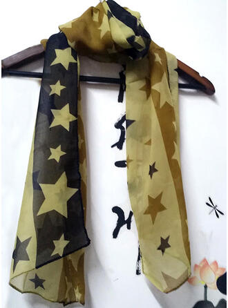 Geometric Print/Stitching fashion/Comfortable Scarf