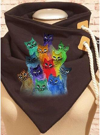 Animal/Colorful fashion/Comfortable/Black Cat Scarf